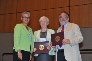 Receiving the Annual Reviews Award for Scientific Reviewing